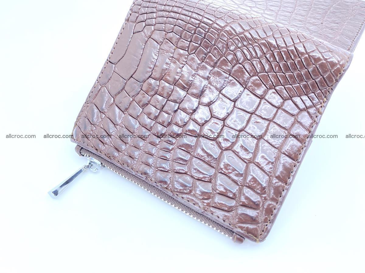 Crocodile skin vertical wallet HK 1043 Foto 4