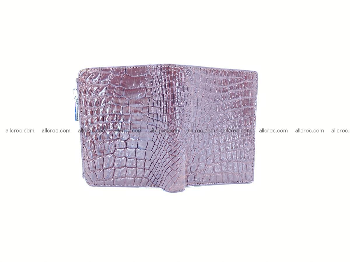 Crocodile skin vertical wallet HK 1043 Foto 2