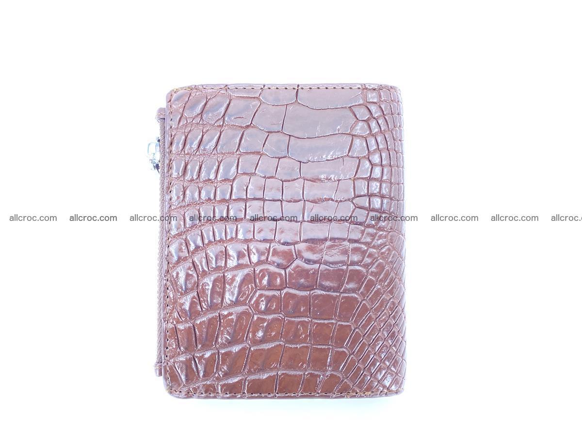 Crocodile skin vertical wallet HK 1043 Foto 1