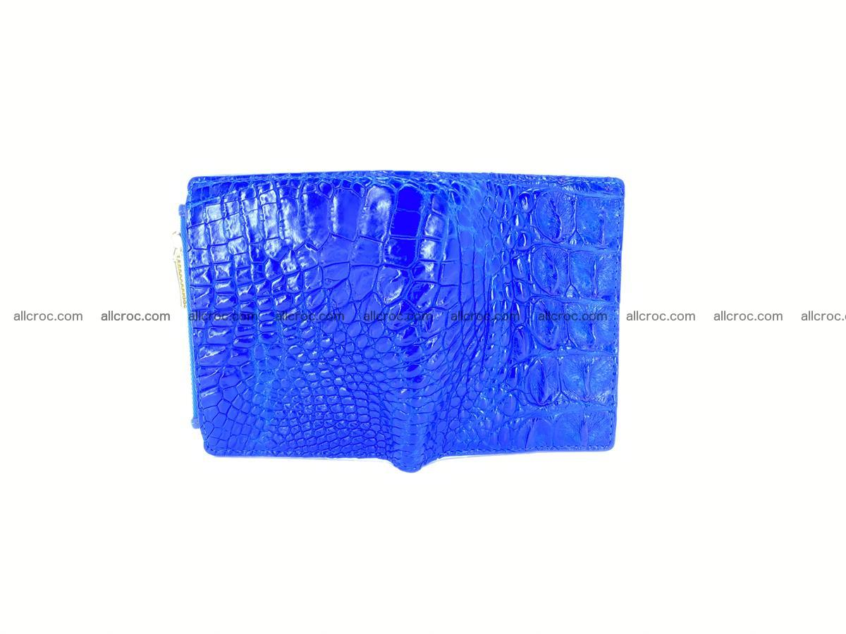 Crocodile skin vertical wallet HK 1048 Foto 2
