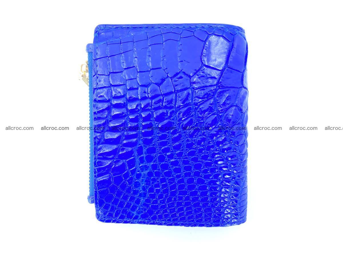 Crocodile skin vertical wallet HK 1048 Foto 1