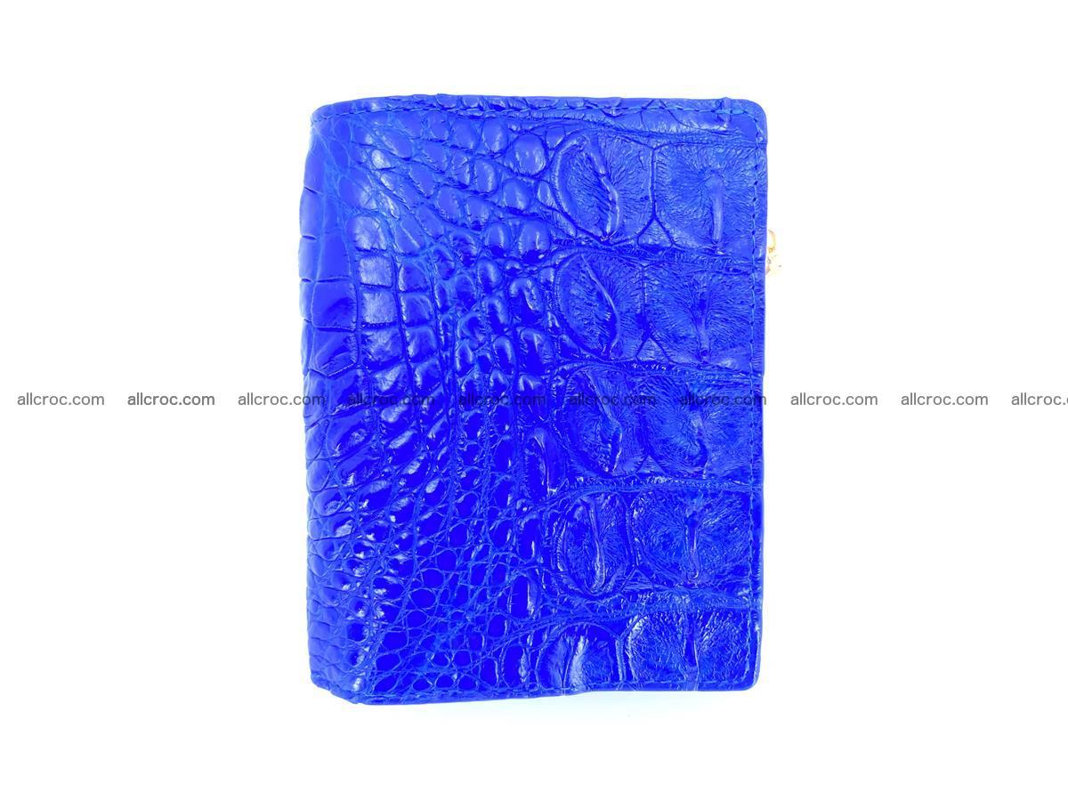 Crocodile skin vertical wallet HK 1048 Foto 0