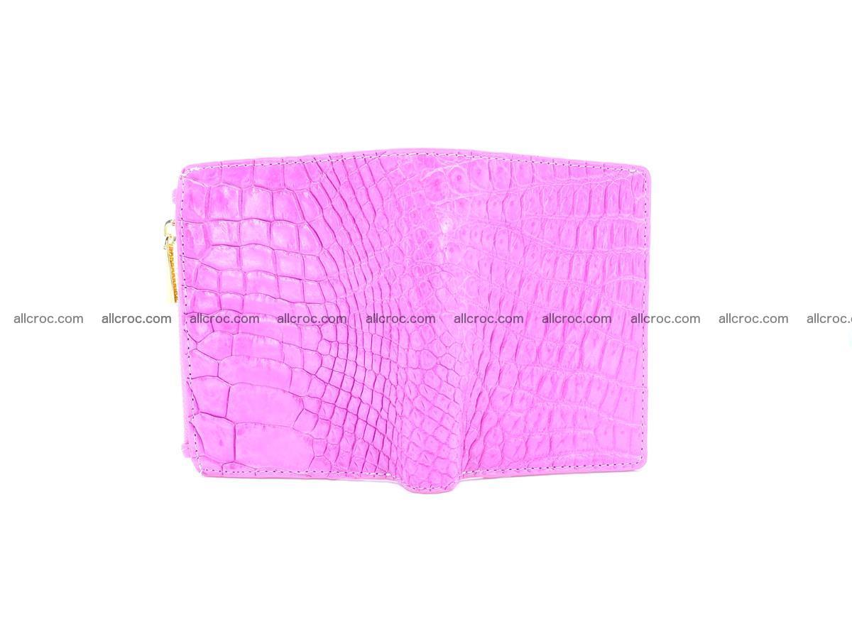 Crocodile skin vertical wallet HK 1044 Foto 2