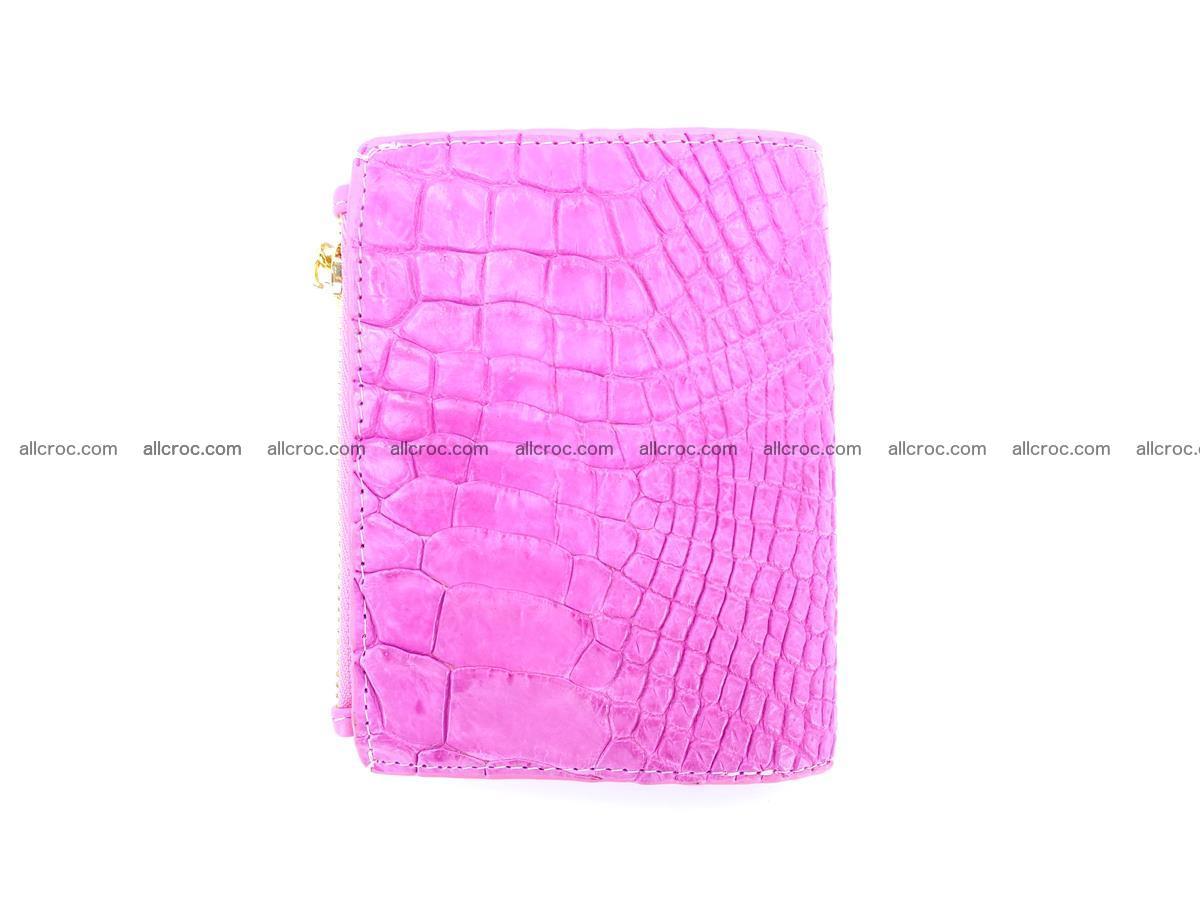 Crocodile skin vertical wallet HK 1044 Foto 1