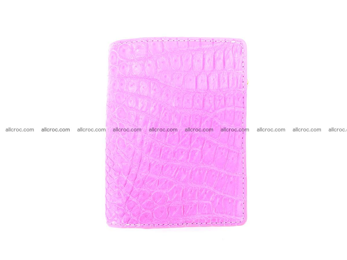 Crocodile skin vertical wallet HK 1044 Foto 0