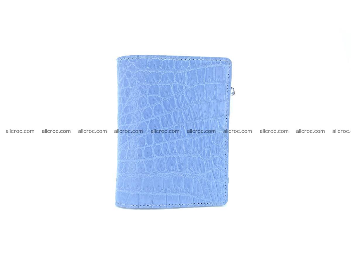 Crocodile skin vertical wallet HK 1046 Foto 2