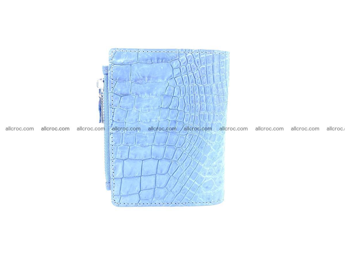 Crocodile skin vertical wallet HK 1046 Foto 3