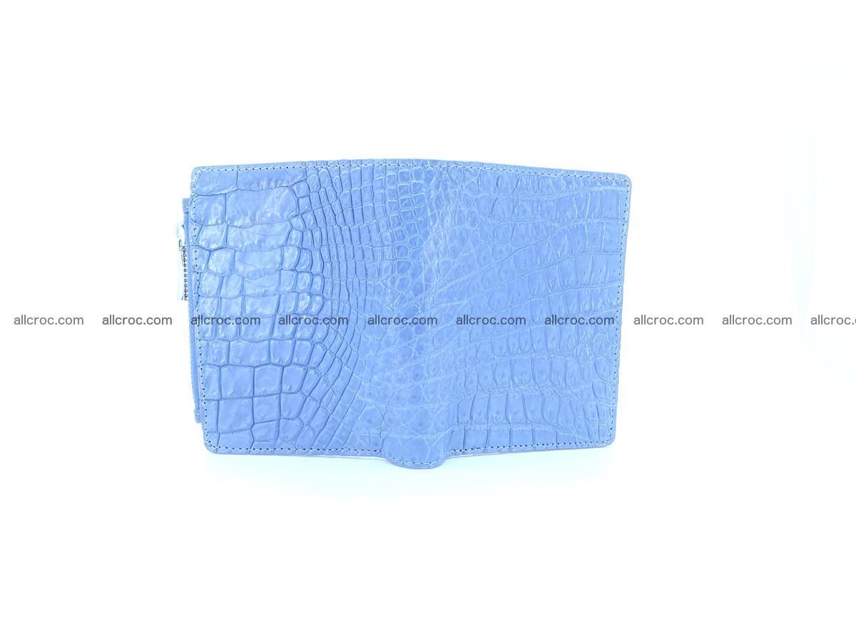 Crocodile skin vertical wallet HK 1046 Foto 4