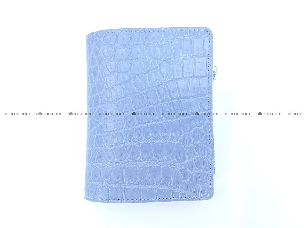 Crocodile skin vertical wallet HK 1046 Foto 0