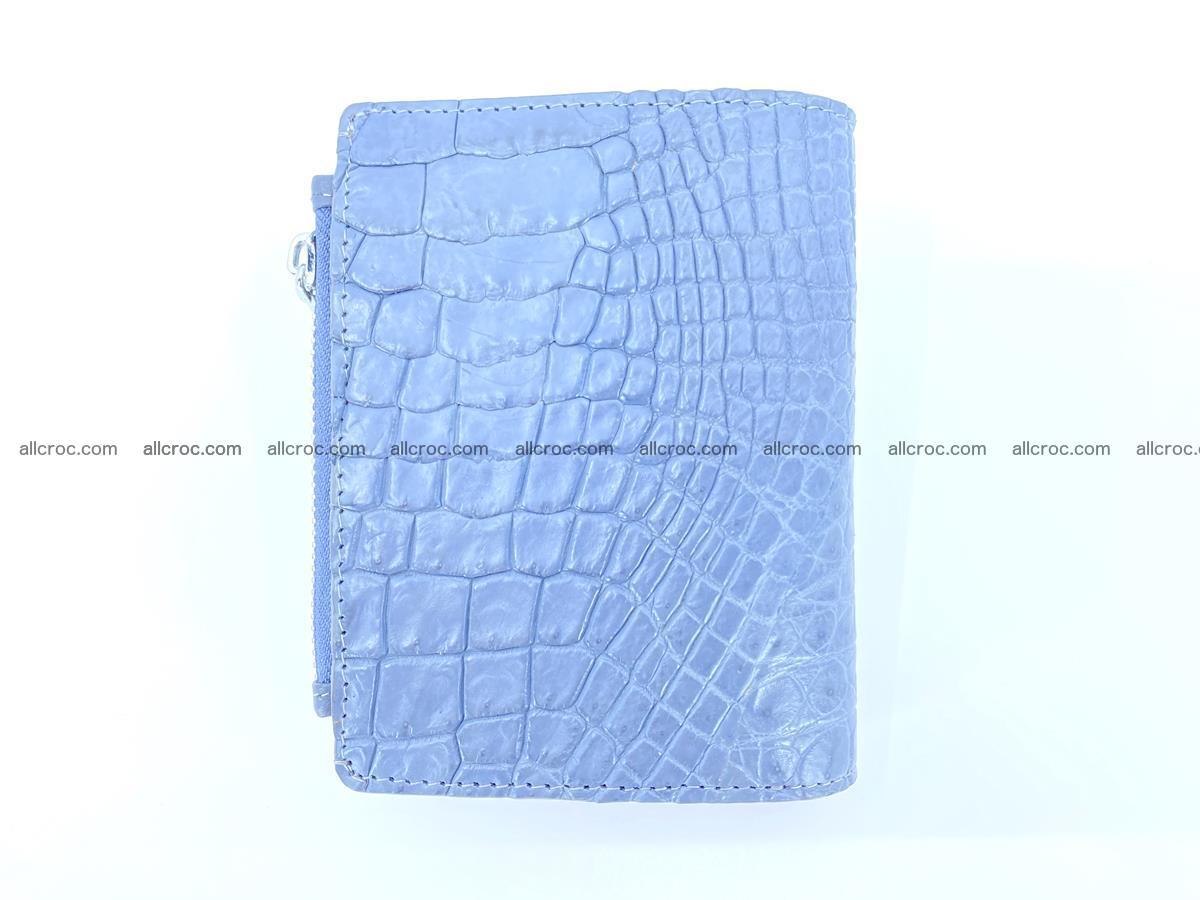 Crocodile skin vertical wallet HK 1046 Foto 1
