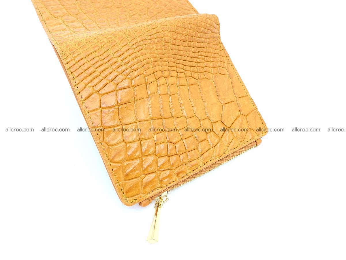 Crocodile skin vertical wallet HK 1040 Foto 5