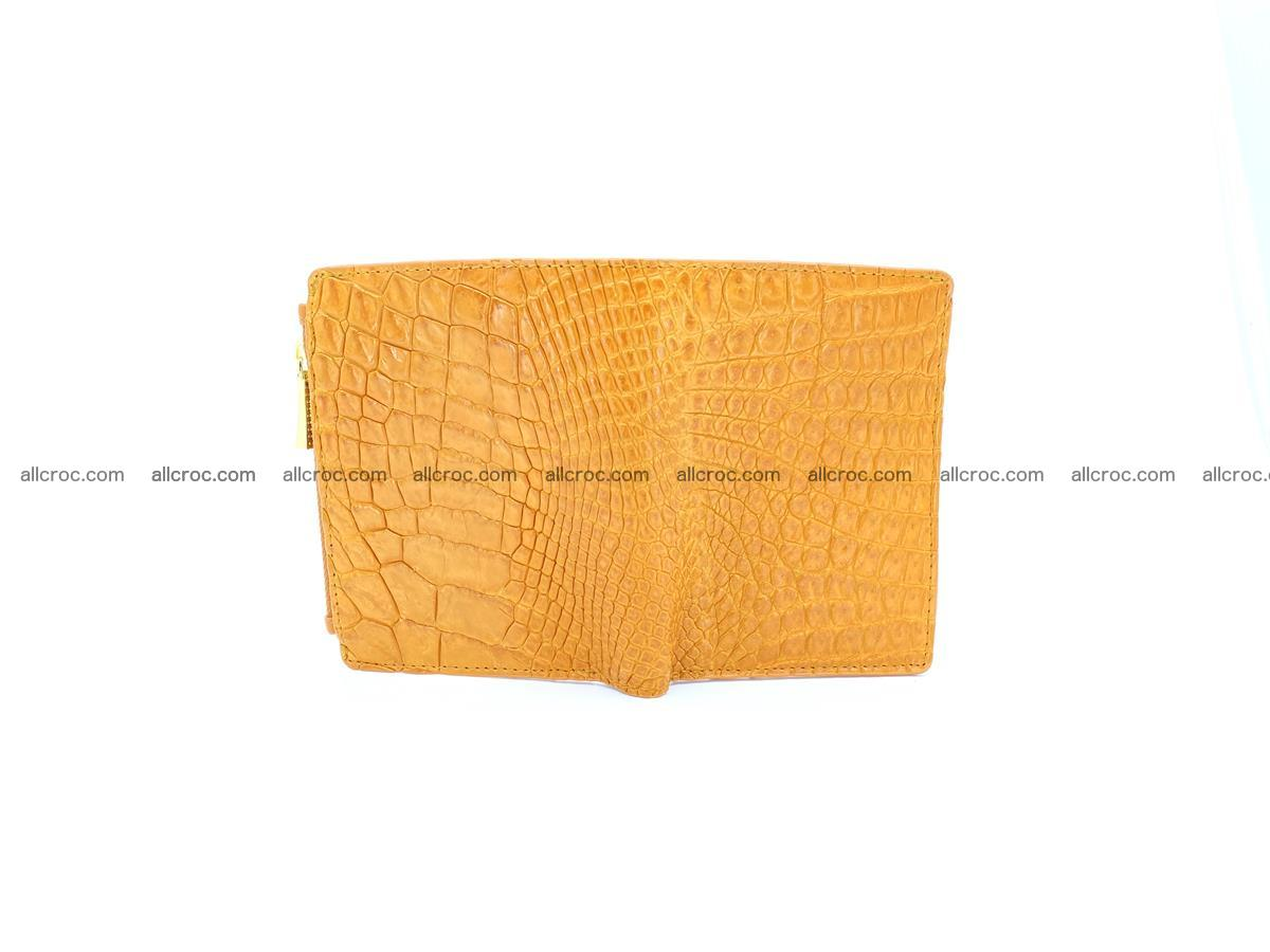 Crocodile skin vertical wallet HK 1040 Foto 2