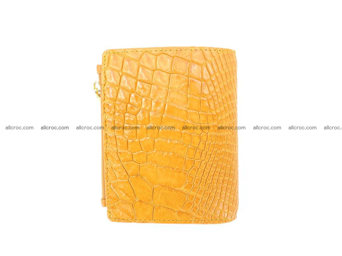 Crocodile skin vertical wallet HK 1040 Foto 1