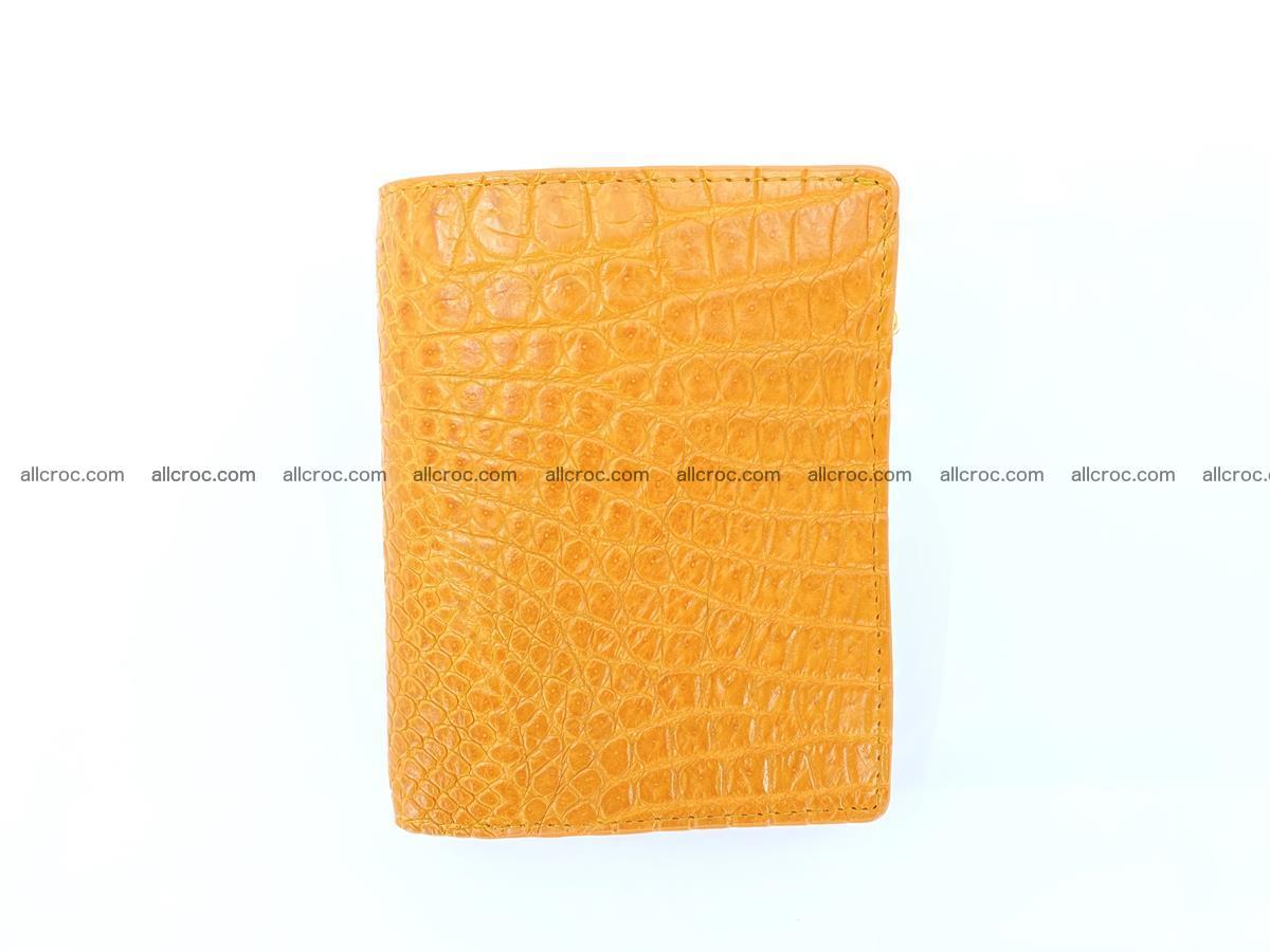 Crocodile skin vertical wallet HK 1040 Foto 0