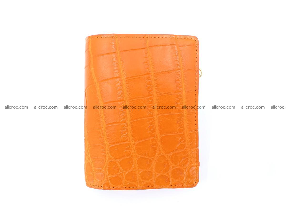 Crocodile skin vertical wallet HK 1045 Foto 0
