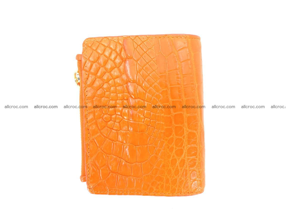 Crocodile skin vertical wallet HK 1045 Foto 1