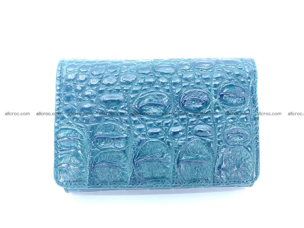 Crocodile skin wallet for women 959 Foto 0