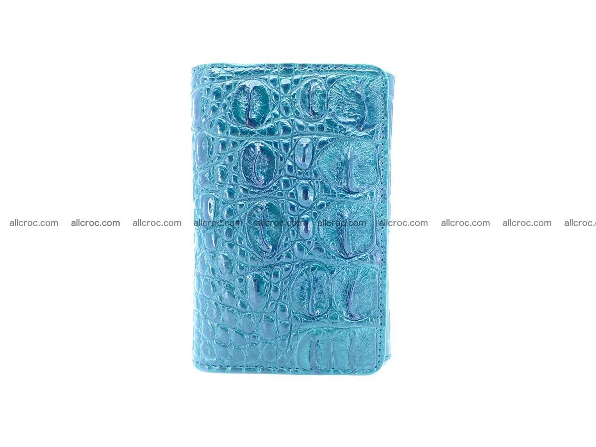 Crocodile skin wallet for women 959 Foto 2