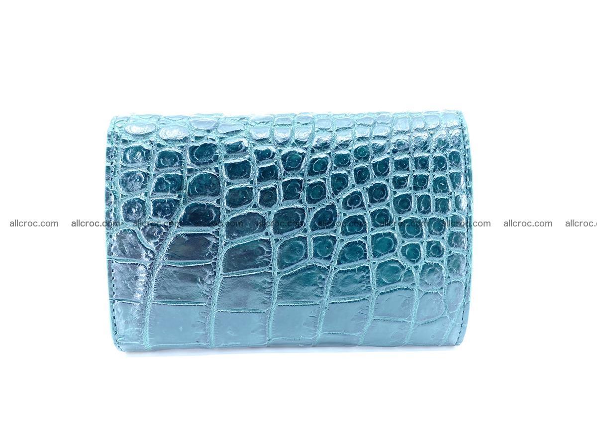 Crocodile skin wallet for women 959 Foto 1