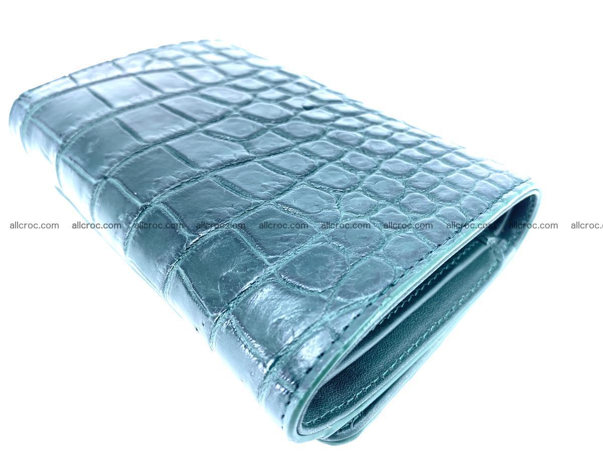 Crocodile skin wallet for women 959 Foto 6