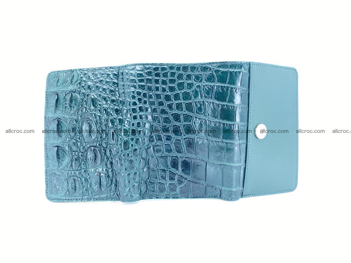 Crocodile skin wallet for women 959 Foto 12