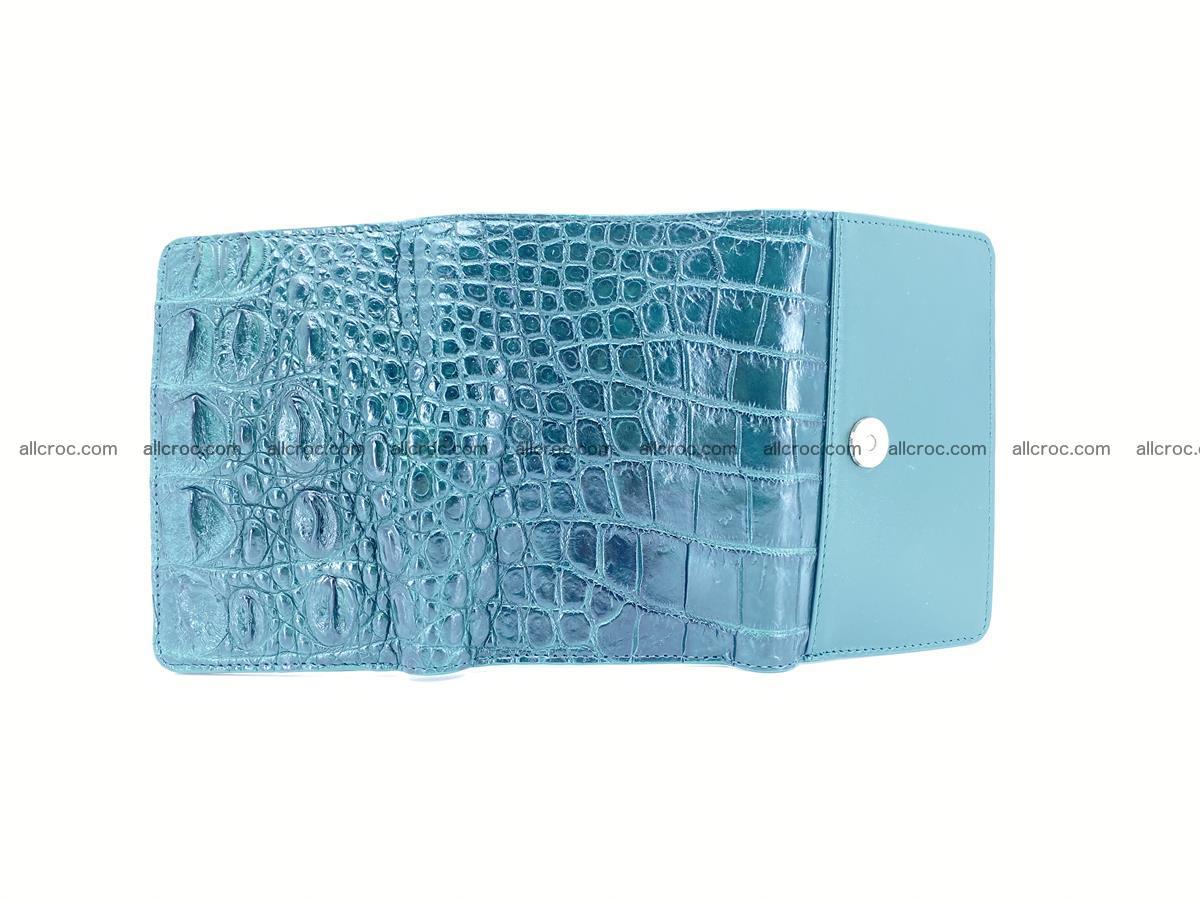 Crocodile skin wallet for women 959 Foto 9