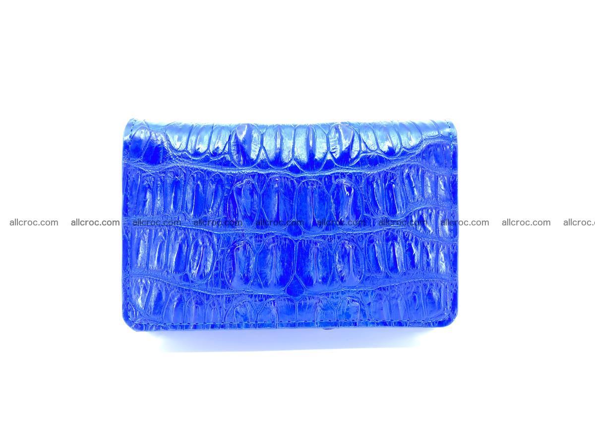 Crocodile skin wallet for women 1029 Foto 0