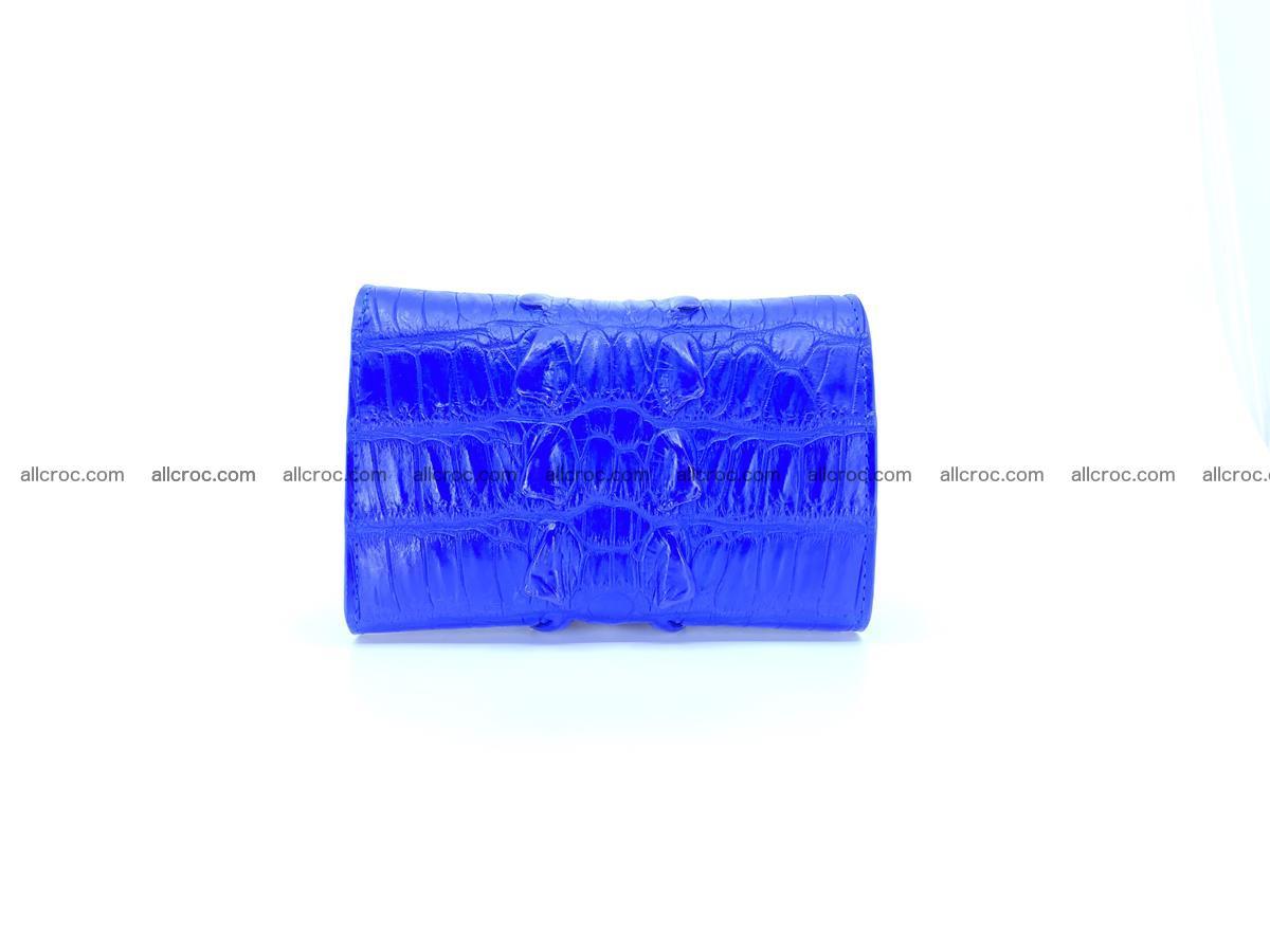 Crocodile skin wallet for women 1029 Foto 1