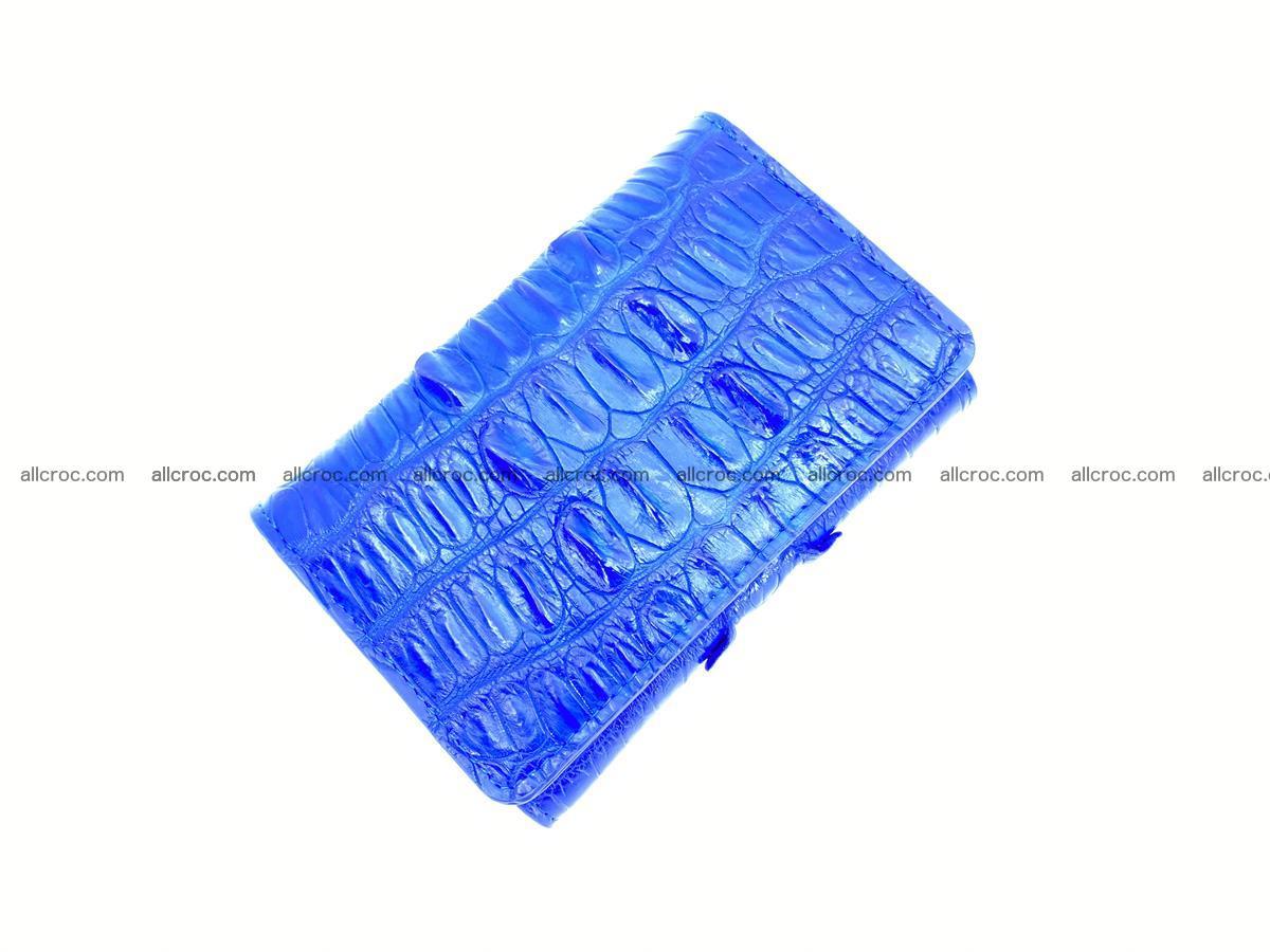 Crocodile skin wallet for women 1029 Foto 4
