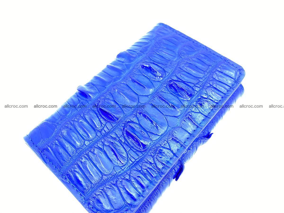 Crocodile skin wallet for women 1029 Foto 5