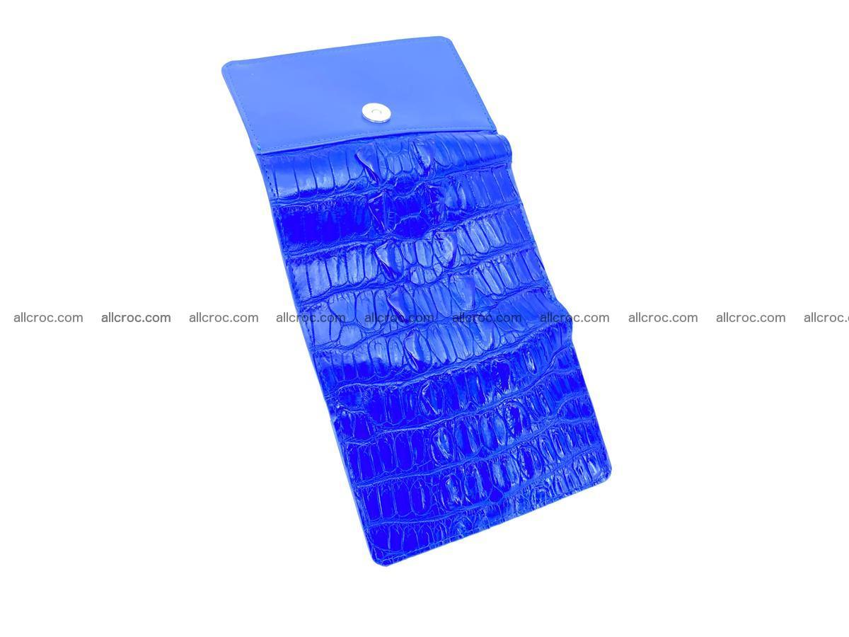 Crocodile skin wallet for women 1029 Foto 6