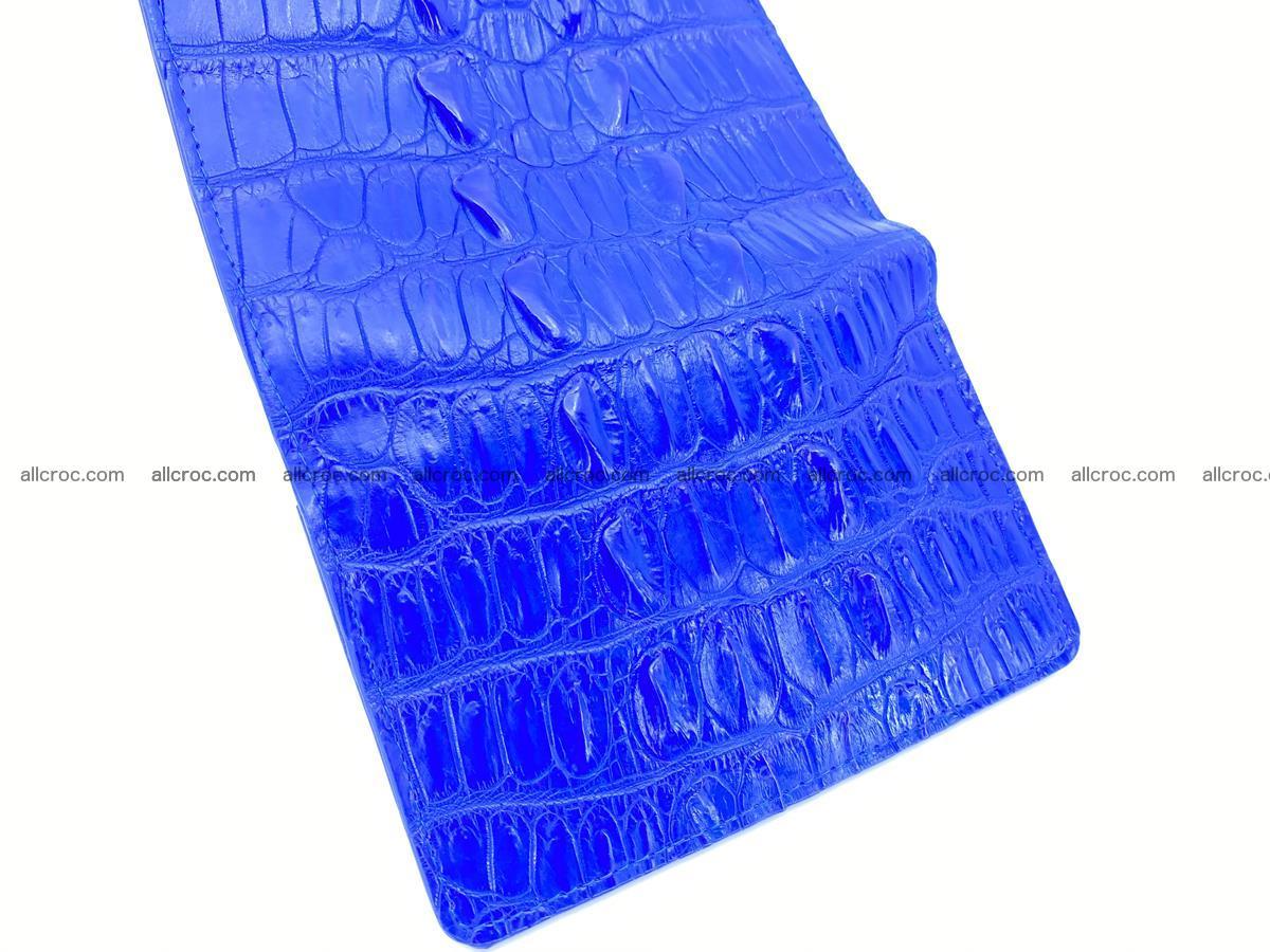 Crocodile skin wallet for women 1029 Foto 7