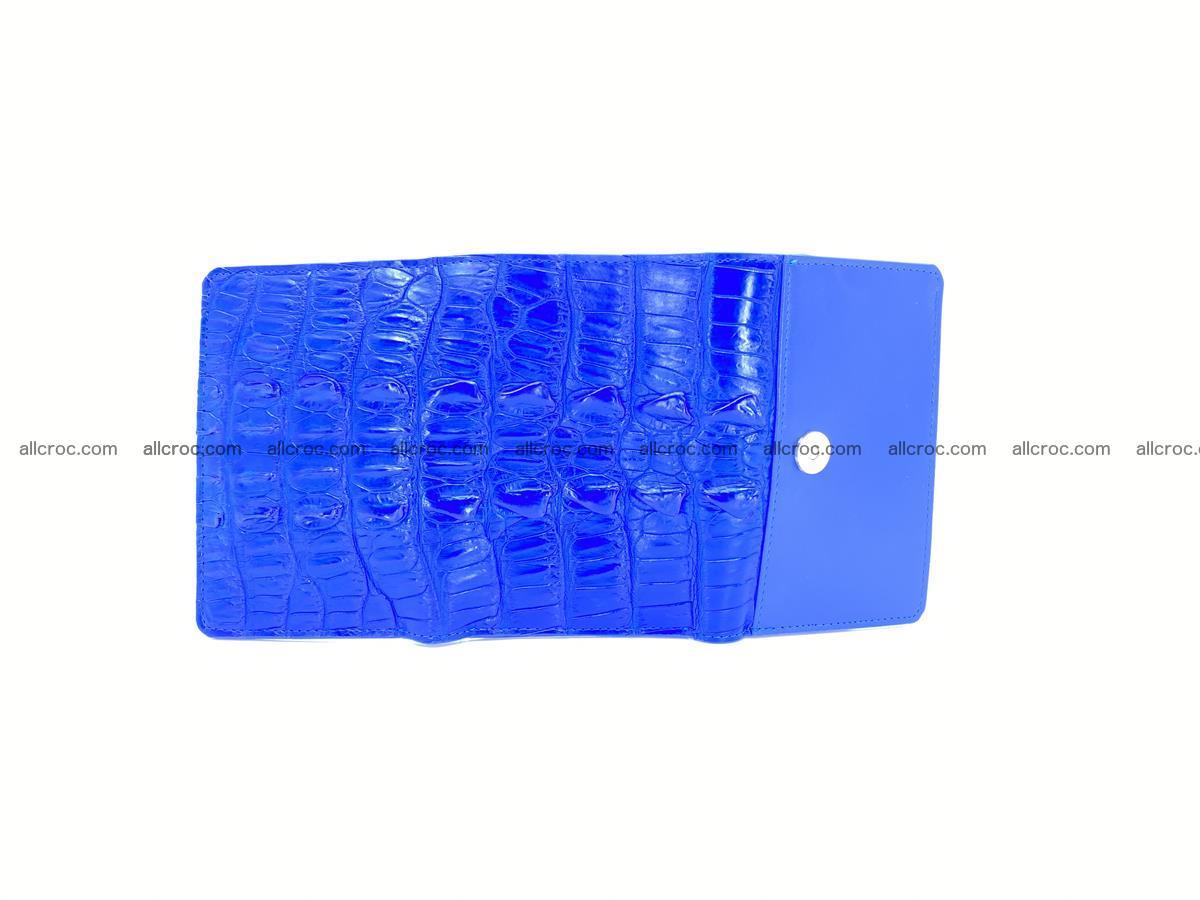 Crocodile skin wallet for women 1029 Foto 8