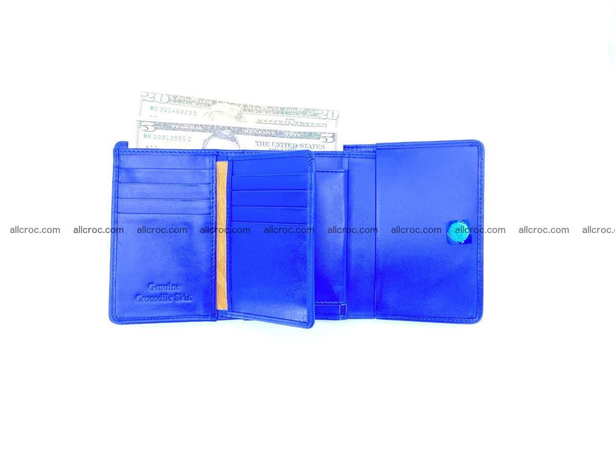 Crocodile skin wallet for women 1029 Foto 9