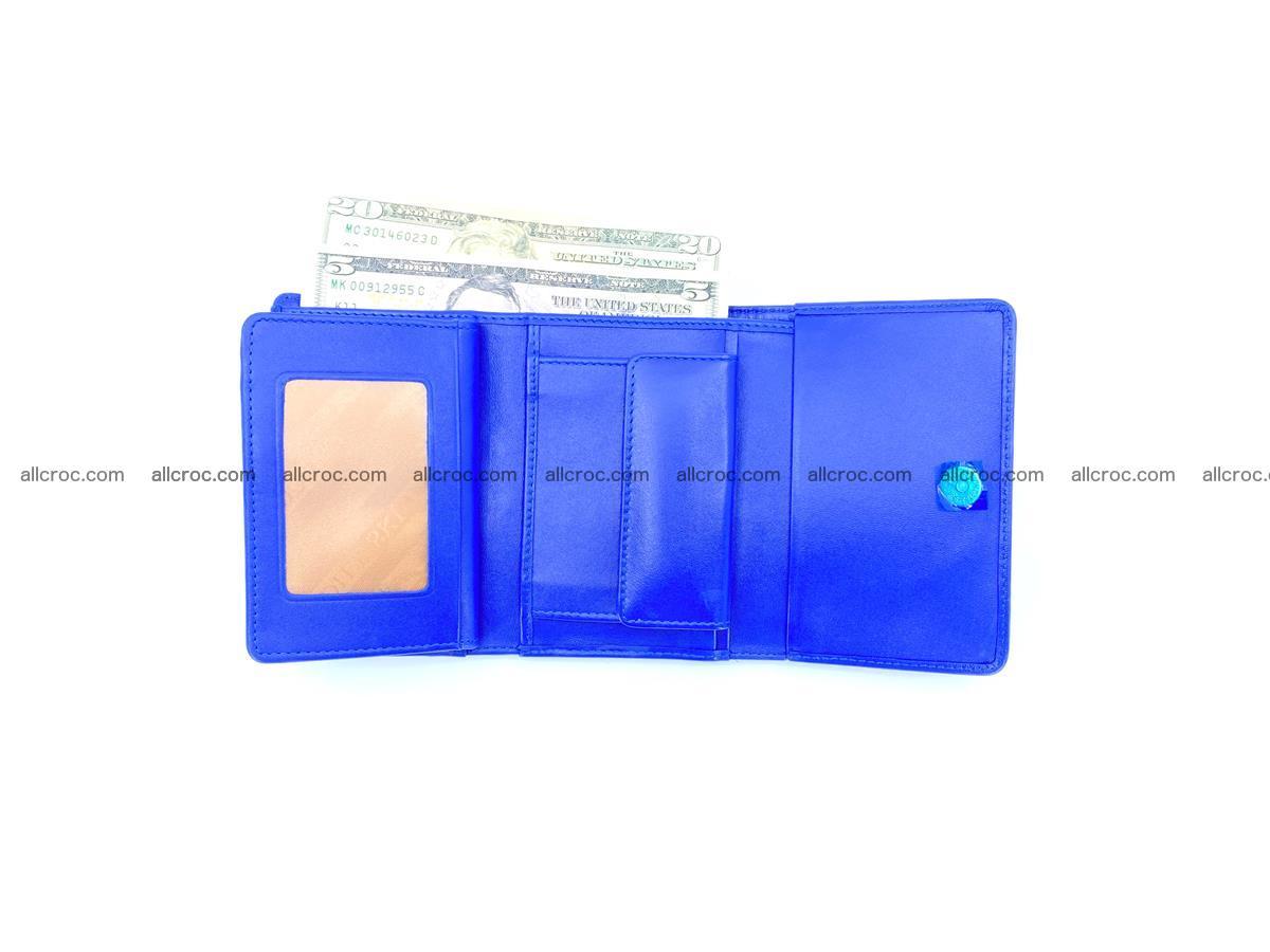 Crocodile skin wallet for women 1029 Foto 10