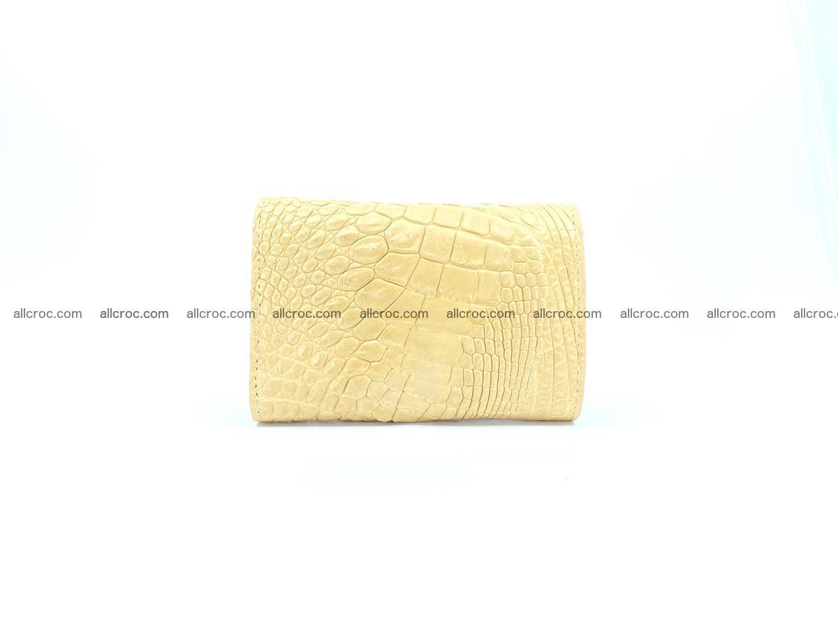 Crocodile skin wallet for women 1025 Foto 1