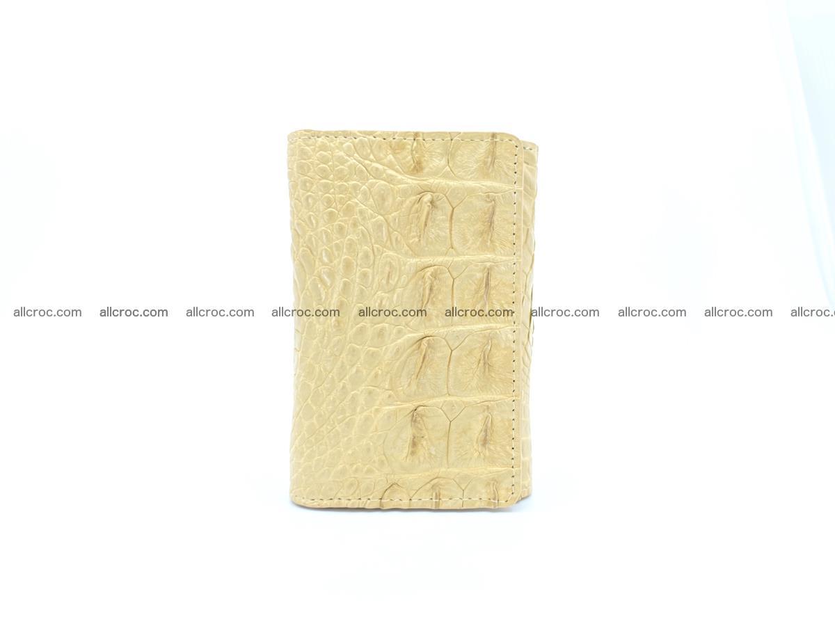 Crocodile skin wallet for women 1025 Foto 2