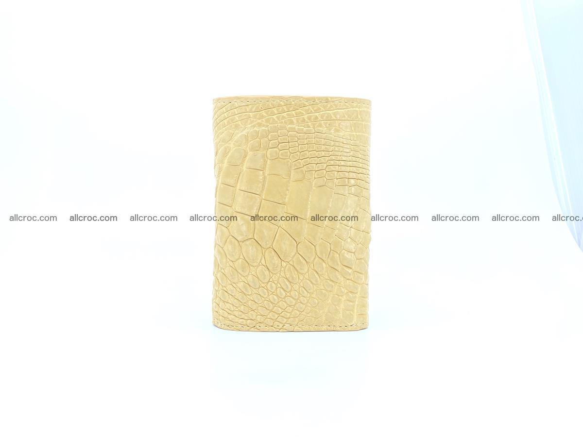 Crocodile skin wallet for women 1025 Foto 3