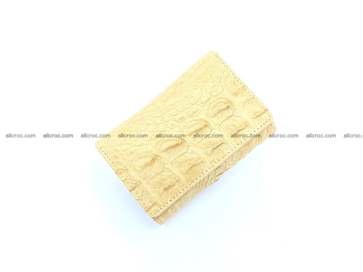 Crocodile skin wallet for women 1025 Foto 4