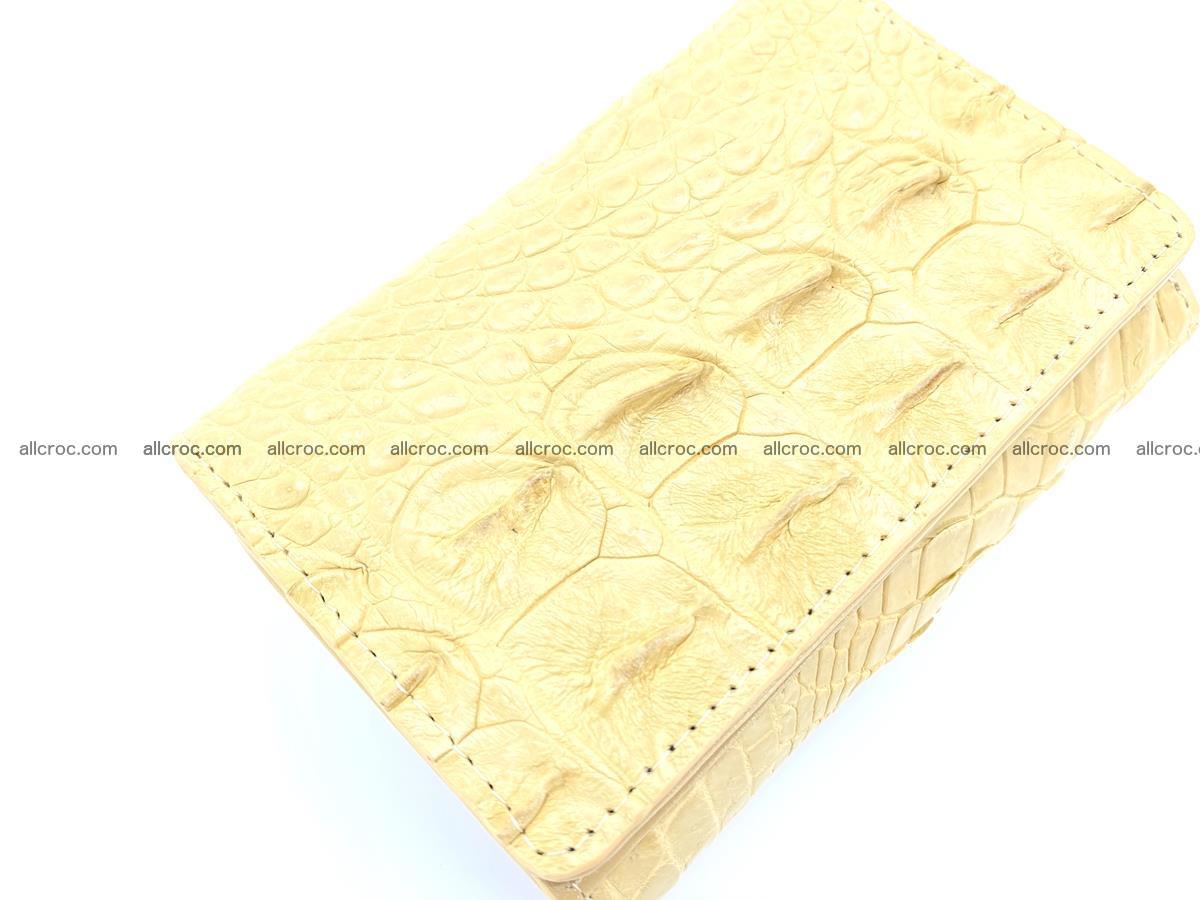 Crocodile skin wallet for women 1025 Foto 5