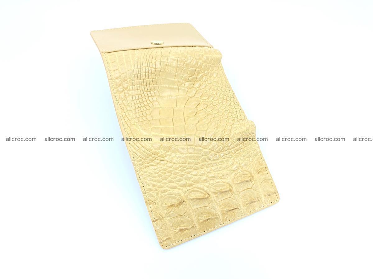 Crocodile skin wallet for women 1025 Foto 6
