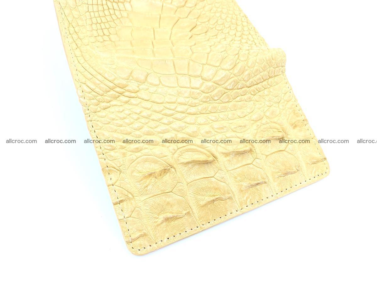 Crocodile skin wallet for women 1025 Foto 7