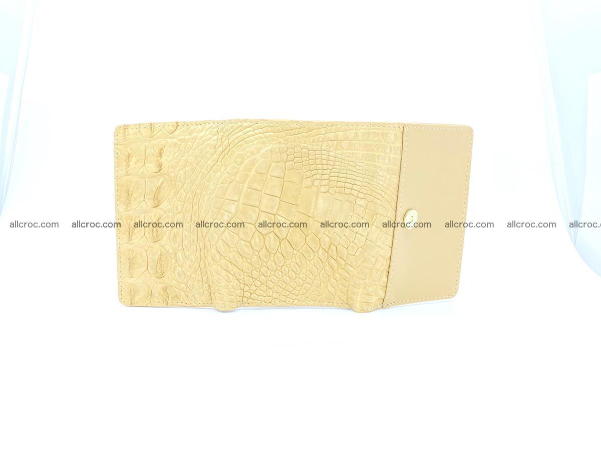 Crocodile skin wallet for women 1025 Foto 8