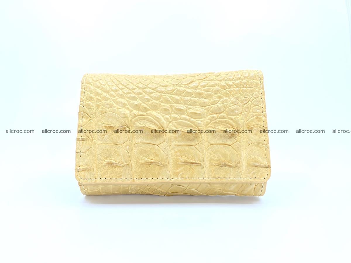 Crocodile skin wallet for women 1025 Foto 0