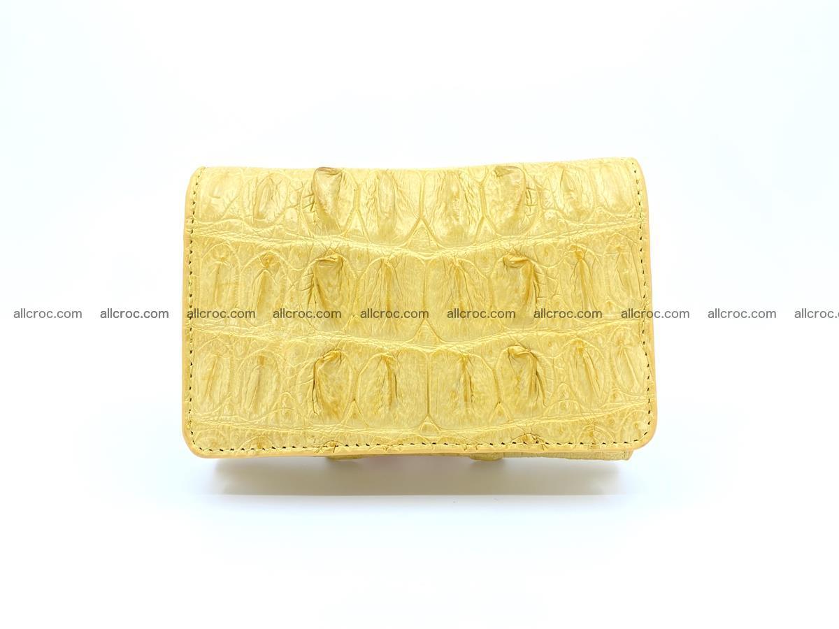 Crocodile skin wallet for women 1028 Foto 0