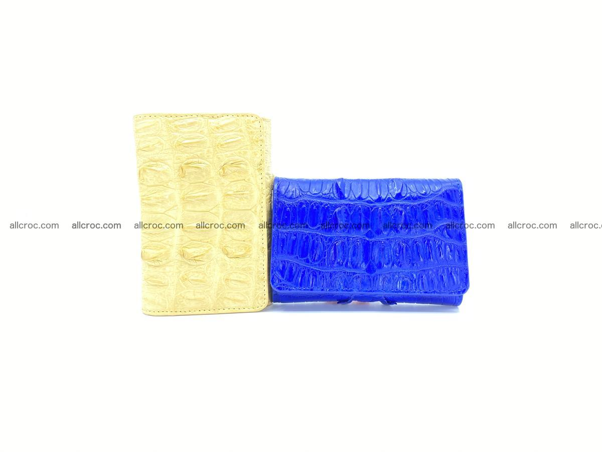 Crocodile skin wallet for women 1028 Foto 9