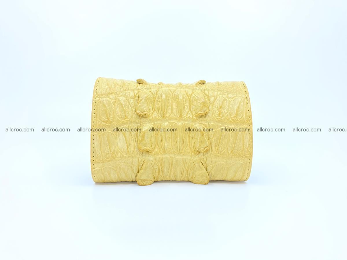 Crocodile skin wallet for women 1028 Foto 1