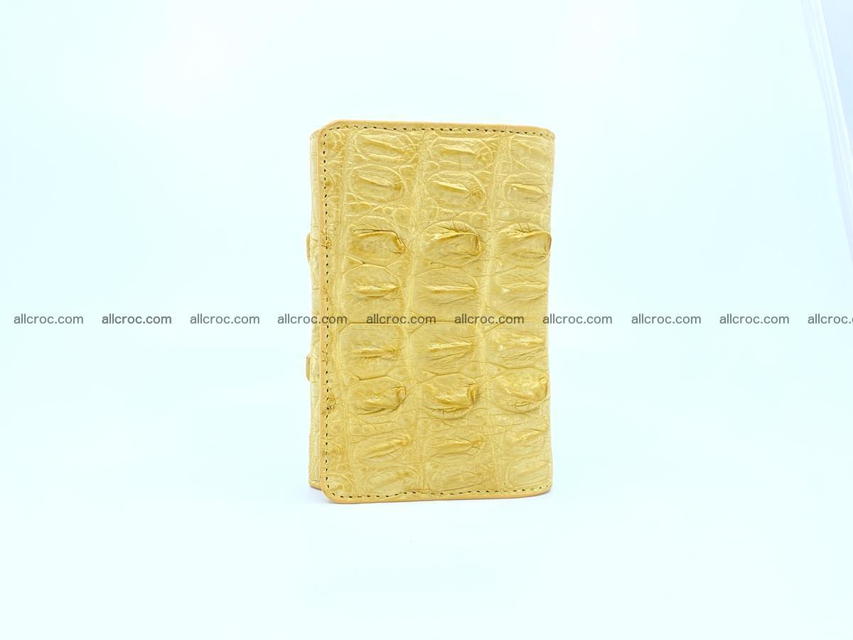 Crocodile skin wallet for women 1028 Foto 2