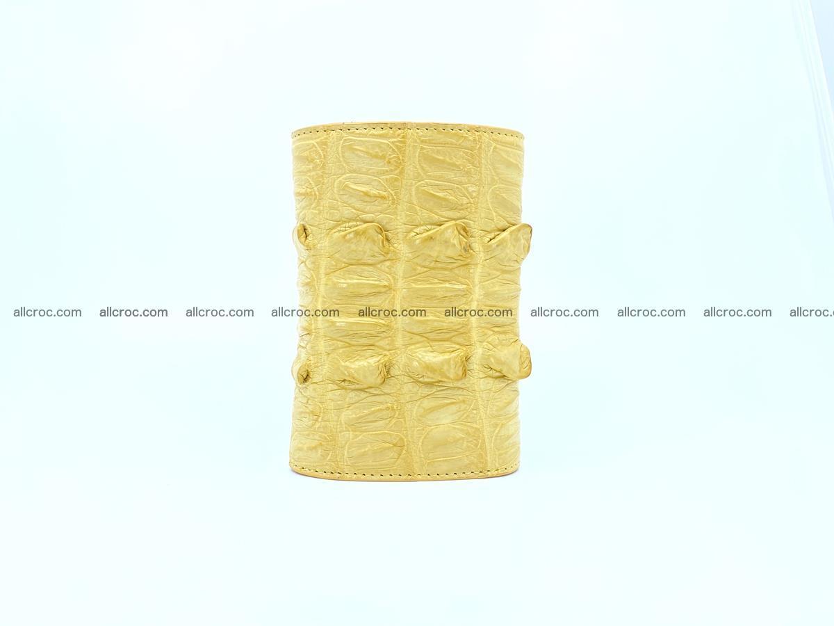 Crocodile skin wallet for women 1028 Foto 3