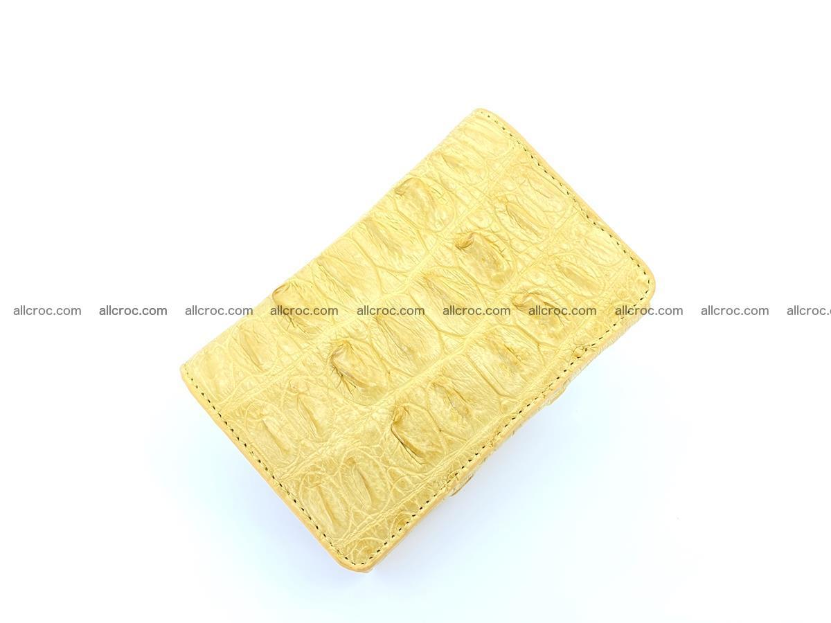 Crocodile skin wallet for women 1028 Foto 4
